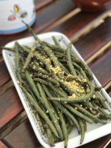 green beans on the grill are so delicious!