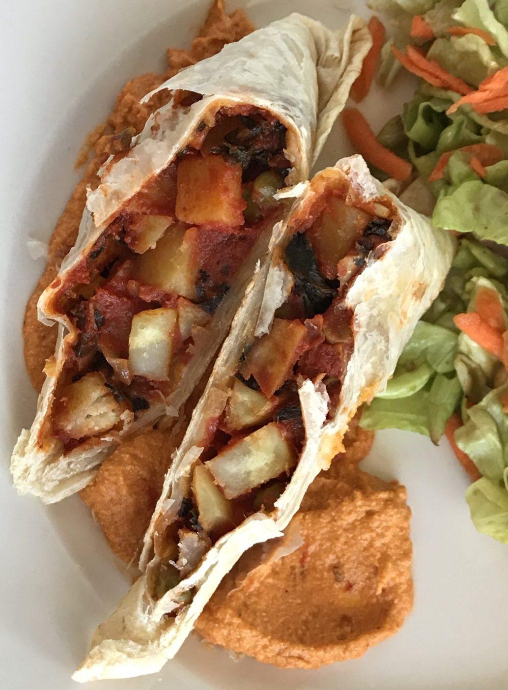 Super veggie sandwich pockets by Eat Like a Yogi