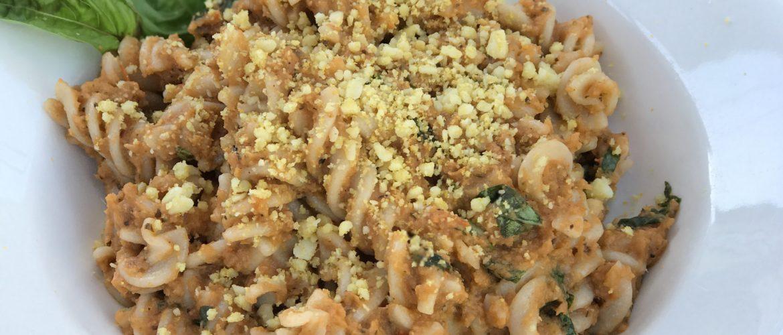 grilled vegetables make a versatile pasta sauce