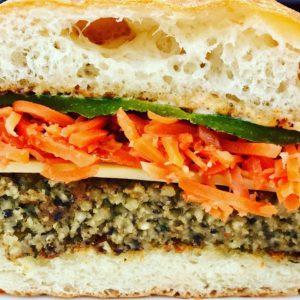 veggie burgers are delicious!