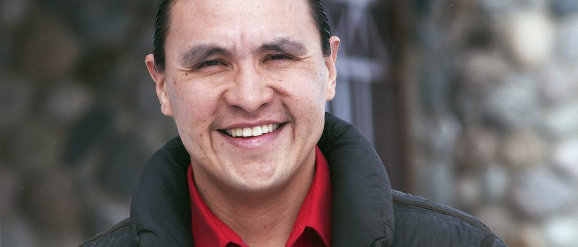 Chase Iron Eyes with Eat Like a Yogi