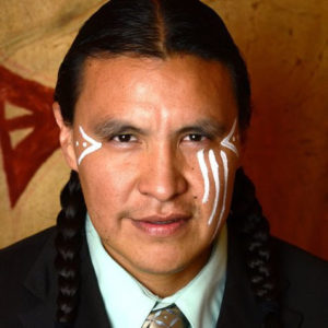 chase iron eyes portrait