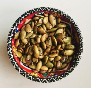seasoned pepitas